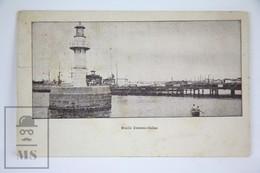 Old Postcard Peru - Muelle Darsena- Callao - Posted - Perú
