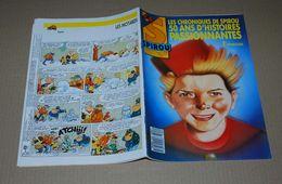 Spirou 2596 12/1/88 Couverture Spirou Par Swolf Avec Les Premières Chroniques De Spirou - Spirou Magazine