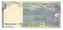 INDONESIA 2009 1000 SERIBU RUPIAH PERFECT UNC BANKNOTE - Indonésie