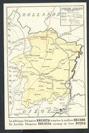+++ CPA - Carte Géographique - LIMBOURG - LIMBURG - Pub Publicité BRUNITA    // - België