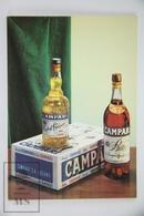 Vintage Advertising Postcard Campari - Postales