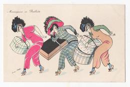 Xavier Sager - Mannequins En Ballade Boites à Chapeaux - Sager, Xavier