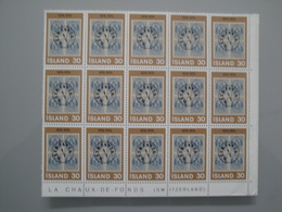 1976 Islande  Yv  471 X 15 **  Timbre Sur Timbres Scott 492  Michel 518 SG 549 Facit 555 - Islande