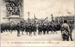 Evenement - Les Fêtes De La Victoire , 14 Juillet 1919 - Les Zouaves - Manifestations