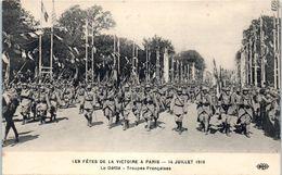 Evenement - Les Fêtes De La Victoire , 14 Juillet 1919 - Le Défilé - Troupes Françaises - Manifestations