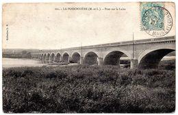 MAINE Et LOIRE - Dépt N° 49 = LA POSSONNIERE 1905 = CPA Edition LB = Pont Sur La Loire - France