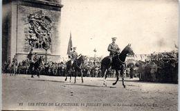 Evenement - Les Fêtes De La Victoire , 14 Juillet 1919 - Le Général Persaing - Manifestations