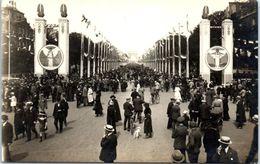 Evenement - Les Fêtes De La Victoire , 14 Juillet 1919 - Avenue Des Champs élysées - Manifestations