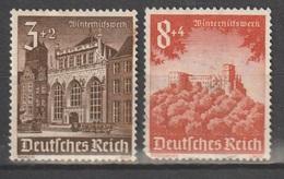 Deutsches Reich / Winterhilfswerk: Bauwerke /  MiNr.: 753, 755 - Deutschland