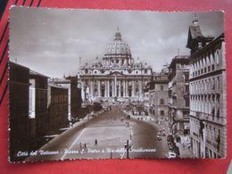 Citta Del Vaticano - Piazza S Pietro E Via Della Conciliazione - Vatikanstadt