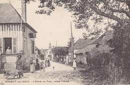 NOGENT -sur-AUBE. - L'entrée Du Pays. Belle Correspondance D'un Poilu - France