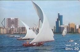 TARJETA TELEFONICA DE EMIRATOS ARABES UNIDOS. CHIP. (090). - Emiratos Arábes Unidos