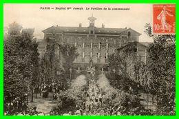 DEUX C.P.A  Hôpital Saint Joseph.(rectos Versos) - Health, Hospitals