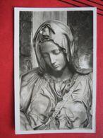 Citta Del Vaticano - Basilica Di S. Pietro: Dettaglio Della Pieta Di Michelangelo / Nachgebühr, Nachtaxiert, Nachporto - Vatikanstadt
