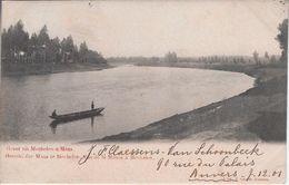 De Maas Prachtstempeling 1901 - Maasmechelen