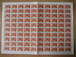 Ungarn1977, 5 Bögen Flugpostmarken, Mi. Nr. 3222A, 3223A, 3225A Gestempelt - Fogli Completi
