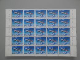 1978 Islande  Yv  486 X 25 **  Avion Airplane Scott 509  Michel 533 SG 564 Facit 570 - Islande