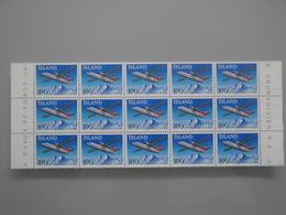 1978 Islande  Yv  486 X 15 **  Avion Airplane Scott 509  Michel 533 SG 564 Facit 570 - Collections, Lots & Séries