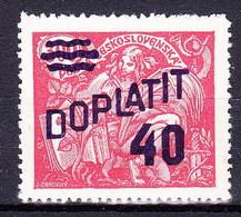 ** Tchécoslovaquie 1926 Mi P 43 A (Yv TT 43), (MNH), - Timbres-taxe