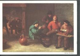 Peintre - Adriaan BROUWER (1605-1638) - Le Fumeur - Carte Vierge - Pittura & Quadri