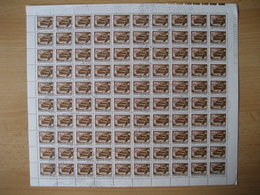 Ungarn1973, 3 Bögen Postdienst Portomarken, Mi. Nr. 242, 243, 246 Gestempelt - Fogli Completi