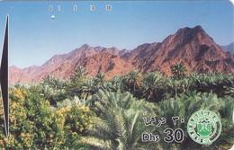 TARJETA TELEFONICA DE EMIRATOS ARABES UNIDOS. TAMURA. (180). - Emiratos Arábes Unidos