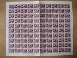 Ungarn1980, Freimarke Stadtbilder, Mi. Nr. 3441A Gestempelt - Feuilles Complètes Et Multiples