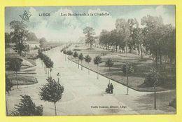 * Liège - Luik (La Wallonie) * (ELD - Emile Dumont) Les Boulevards à La Citadelle, Couleur, Rare, Old, CPA, Unique - Liege