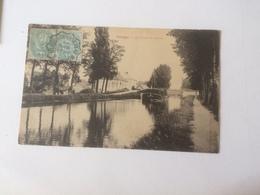 AF63 Palinges Le Canal Du Centre - France
