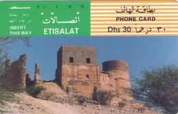 TARJETA TELEFONICA DE EMIRATOS ARABES UNIDOS. TAMURA. (188). - Emiratos Arábes Unidos