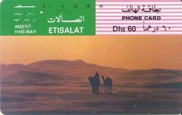 TARJETA TELEFONICA DE EMIRATOS ARABES UNIDOS. TAMURA. (193). - Emiratos Arábes Unidos