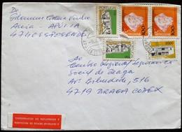 PORTUGAL - Cover - Stamps NAVEGADORES + ARQUITECTURA - APÚLIA (ESPOSENDE) + BRAGA + ESPOSENDE - 1994 - 1910-... República