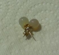 SUPERBE Boucle D'oreille (clou) En Opale - Neuf Jamais Porté - Opal