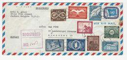 Cover * United Nations * 1954 * Registered - New York - Hoofdkwartier Van De VN