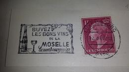 BONS VINS MOSELLE River Wine Luxemburg Luxembourg 1960 Cancel Cancellation - Vini E Alcolici