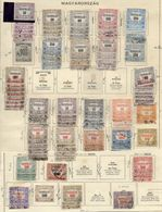 HUNGARY 1921-23 Official Stamps, A Mostly Used Accumulation. - Officials