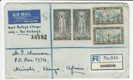 Cover * New Zealand * 1955???? * Registered - Covers & Documents