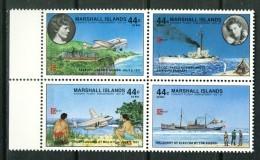 Marshall Islands 1987, Plane - Vliegtuig - Flugzeug - Avion -  Earhart - Capex **, MNH - Transportmiddelen
