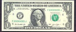 USA 1 Dollar 2013 F UNC # P- 537 F - Atlanta GA - Federal Reserve Notes (1928-...)