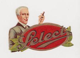 Découpis Publicitaire Cigares Select - Découpis