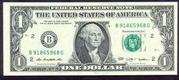 USA 1 Dollar 2009 B UNC # P- 530 B - New York NY - Federal Reserve Notes (1928-...)