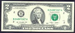 USA 2 Dollars 2009 B AUNC # P- 530A B - New York NY - Federal Reserve Notes (1928-...)
