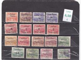 Costa Rica  -  Lote  17  Sellos Diferentes. -  1/798 - Costa Rica