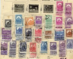 HUNGARY 1927-29 Definitive Accumulation. Used.  Michel 421-29, 441-54, 471-74 - Hungary
