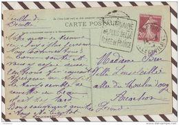 3AB1214 SAINT  LUNAIRE VUE PRISE  DU DECOLLE Dagun La Plus Belle Plage De France  2 SCANS - Marcofilie (Brieven)