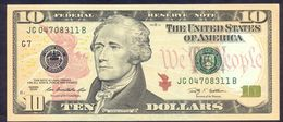USA 10 Dollars 2009 G UNC # P- 532 G - Chicago IL - Federal Reserve Notes (1928-...)