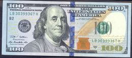 USA 100 Dollars 2009A B UNC # P- 536 B - New York NY - Federal Reserve Notes (1928-...)
