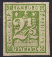 HAMBOURG  Neuf Sans Gomme 12  Réimpression ? - Hamburg