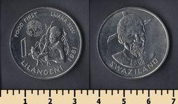 Swaziland 1 Lilangeni 1981 - Swaziland