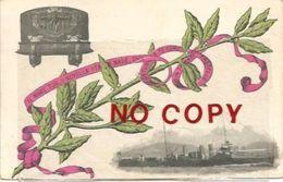 Il Bersagliere, Nave Da Guerra, 11.11.1907 I Bersaglieri Offrono La Bandiera Di Combattimento. - Guerra